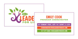 Leaders for Life Business Card